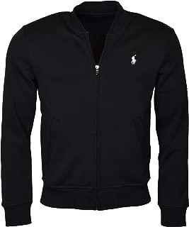 Polo Ralph Lauren Men's Double-Knit Bomber/Track Jacket - M - Polo Black