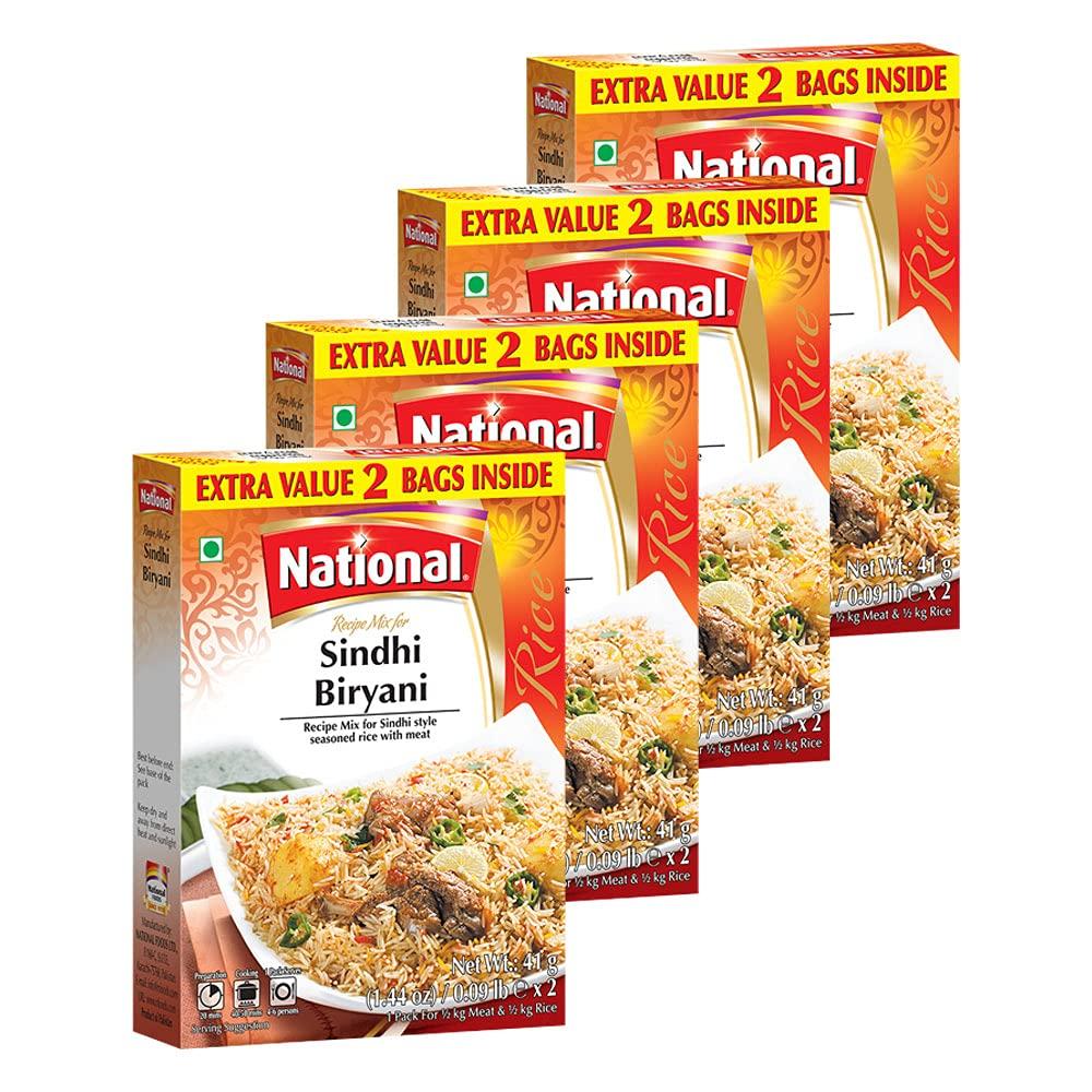 National Foods Max 42% OFF Sindhi Biryani Recipe Mix Sale price 2.88 South A oz 82g