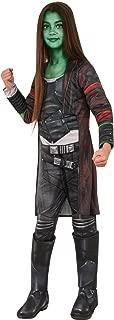 Rubie's Costume Guardians of The Galaxy Vol. 2 Deluxe Child's Gamora Costume, Multicolor, Small