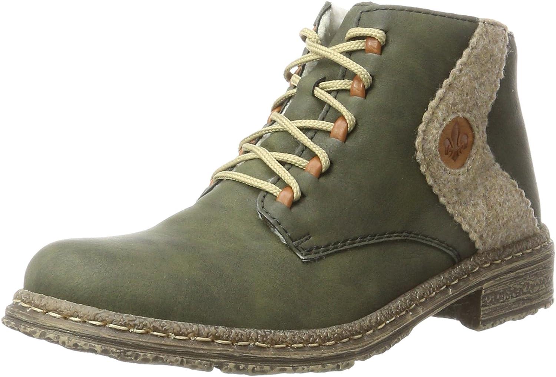 Rieker 54233-54 Forest Wood Cayenne (Green) Womens Boots