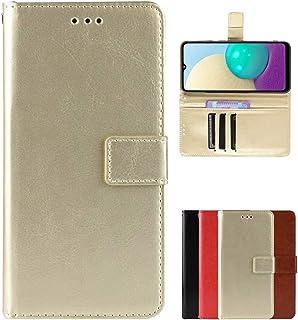 Case suitable for OPPO Reno5 Pro Plus Phone Case,OPPO Reno5 Pro Plus Flip Wallet,Built-in Multiple Card Slot Design(Gold)