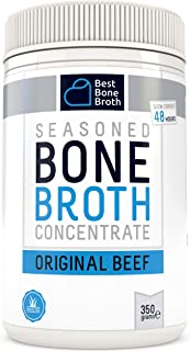 Premium Beef Bone Broth Concentrate - Maximized Nutrition Bone Broth On The Go - No Hormones or Additives, Delicious Natural Flavor, Sourced From AU & NZ Beef - Beef Broth