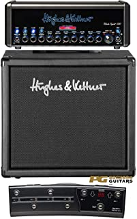Hughes&Kettner 《ヒュース&ケトナー》 Black Spirit 200 & TubeMeister 112 Cabinet & FSM432 MKIII MIDI BOAD 【Belden 9497スピーカーケーブル?プレゼント】 【特製Tシャツプレゼント】