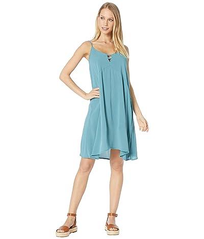 Roxy Full Bloom Woven Tank Dress (Brittany Blue) Women