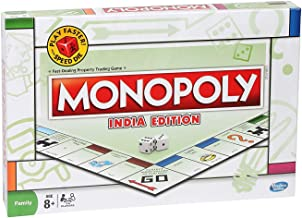 HARIVAR MART® Monopoly India Edition Board Game for Families and Kids Ages 8 and Up, Classic Gameplay