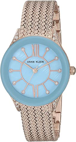 Light Blue/Rose Gold-Tone