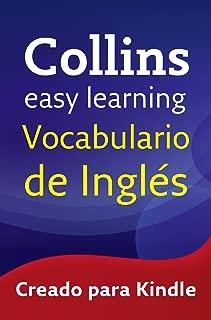 Easy Learning Vocabulario de inglés (Spanish Edition)