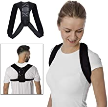 Posture Corrector for Women Men, Back Posture Brace with Powerful Magic Stickers Effective Comfortable Adjustable Posture Support Belt Kyphosis Brace