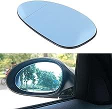 BOXATDOOR Mirror Glass for BMW, Wing Mirror Glasses Blue Heated Left Door Side Mirror for BMW E82 E88 E46 E85 E90 E91