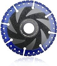 SHDIATOOL 4.5 Inch Metal Cutting Diamond Blade All-Purpose Diamond Cut-off Wheel Marble Aluminum Pipe Iron Hard Plastic PVC and more