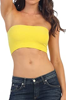 Kurve Seamless Sparkle Bandeau Tube Top (Non-Padded) -Made in USA-