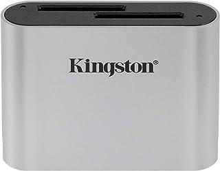 キングストンテクノロジー Workflow SDカードリーダー USB 3.2 gen1 UHS-II対応 デュアルスロット搭載 WFS-SD 国内正規代理店保証品 2年保証