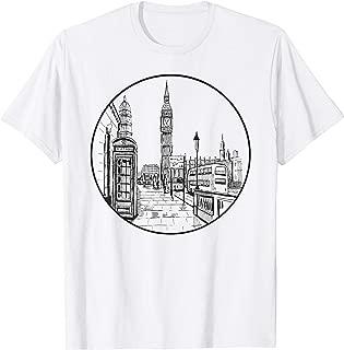 London Big Ben British Icon UK Souvenir English Retro Gift T-Shirt