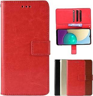 Case suitable for OPPO Reno5 Pro Plus Phone Case,OPPO Reno5 Pro Plus Flip Wallet,Built-in Multiple Card Slot Design(Red)