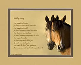 Wedding Gift for the Couple. Horses Photo with