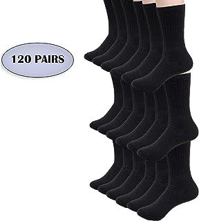 9f23f56246426 Bulk Case of Wholesale Unisex Men's & Womens Athletic Crew Socks Size 9-11