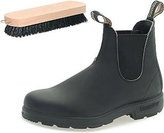 Blundstone Style 510 Black Boots with Shoe Polishing Brush
