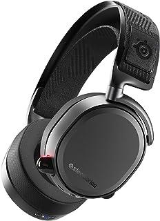SteelSeries Arctis Pro Wireless - Gamingheadset - Högupplösta högtalardrivrutiner - Dubbel trådlös anslutning (2.4G & Blue...