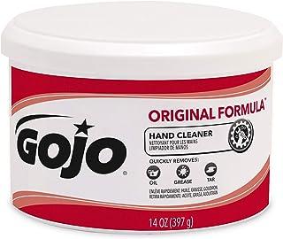 GOJO ORIGINAL FORMULA Hand Cleaner, Fragrance Free, 14 fl oz Crème-Style Hand Cleaner Canister 1109 (1 - 14fl oz canister)