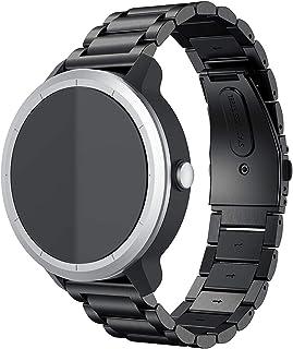 Anrir متوافق ل Garmin Vivo Active 3 ووتش ، 20 مم الفولاذ المقاوم للصدأ ووتش لجارمين فوررنر 645 / فوريرنر 245 / سامسونج جال...