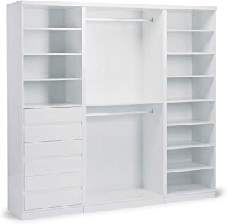 Linear White 3 Piece Storage System by Home Styles