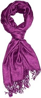 Designer Herrenschal hochwertiger Markenschal jacquard gewebtes Paisley Muster 60 x 200 cm Viskose harmonische Farben Schaltuch Schal Tuch
