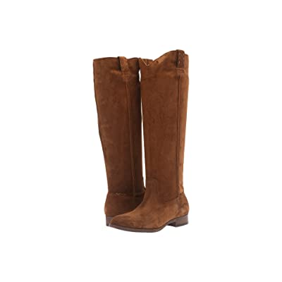 Frye Cara Tall (Wood Oiled Suede) Women