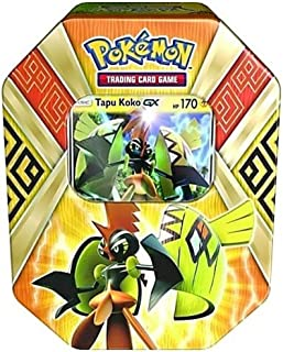 Pokemon 2017 Island Guardians Tapu Koko-GX Collector Tin Set