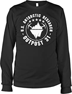 NOFO Clothing Co Outpost 31 US Antarctic Research Men's Long Sleeve Shirt
