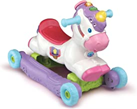 VTech Rock and Ride Unicorn Baby Ride On Toy, Rocker, Interactive Baby Musical Toy with Learning and Sound Features, First...
