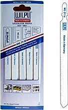 Hojas de sierra de calar (5 unidades, MG31, 100 mm y 130 mm, extralargas, para sierra de calar y mesa de sierra de calar 012L)