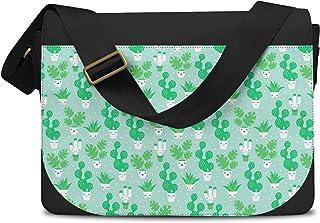 Kawaii Cactus Plants Green - One Size Messenger Bag - Messenger Bag