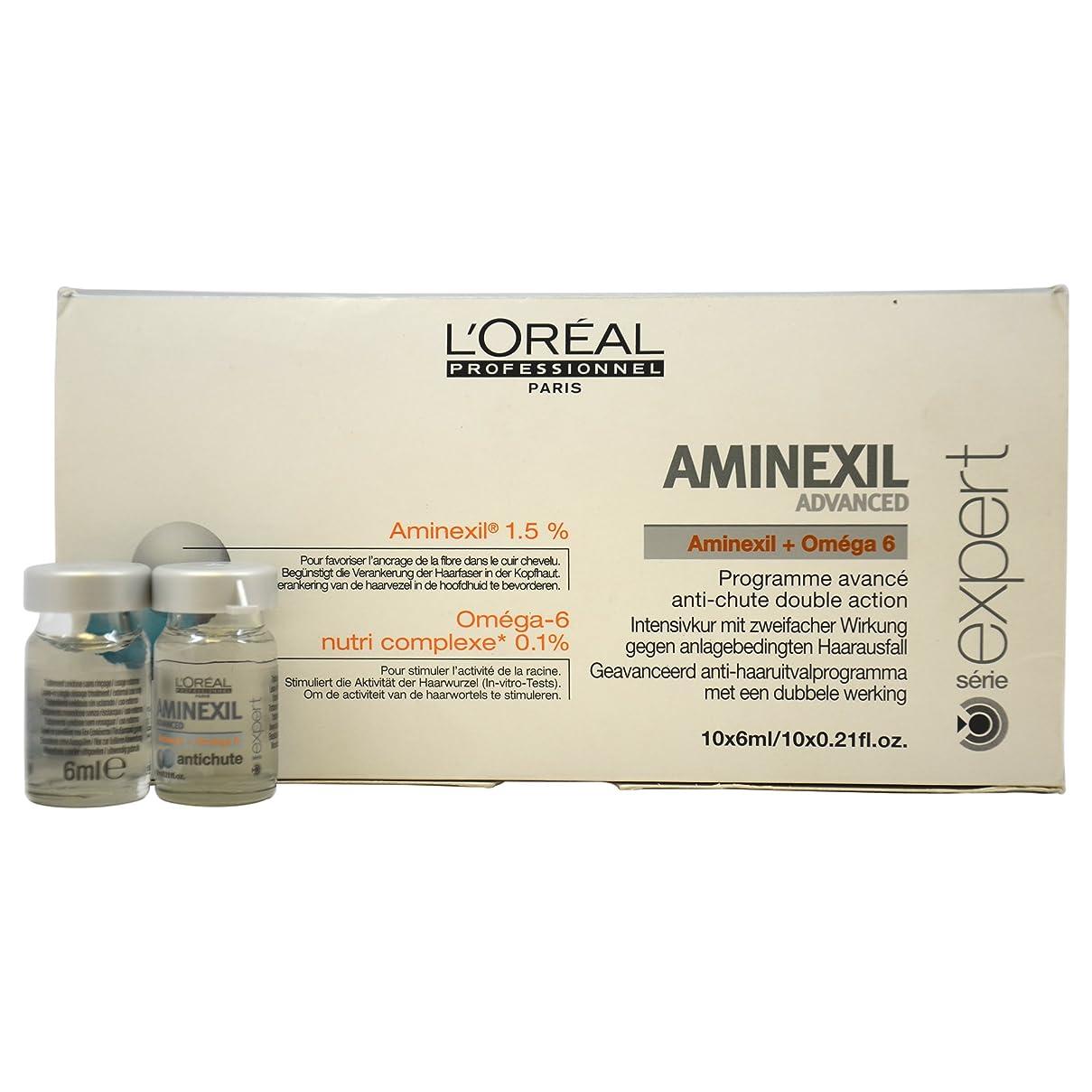 重々しい理解インディカロレアル エキスパート ア三ネクシル コントロール 10個 L'Oreal Expert Aminexil Control 10 Units Advanced [並行輸入品]