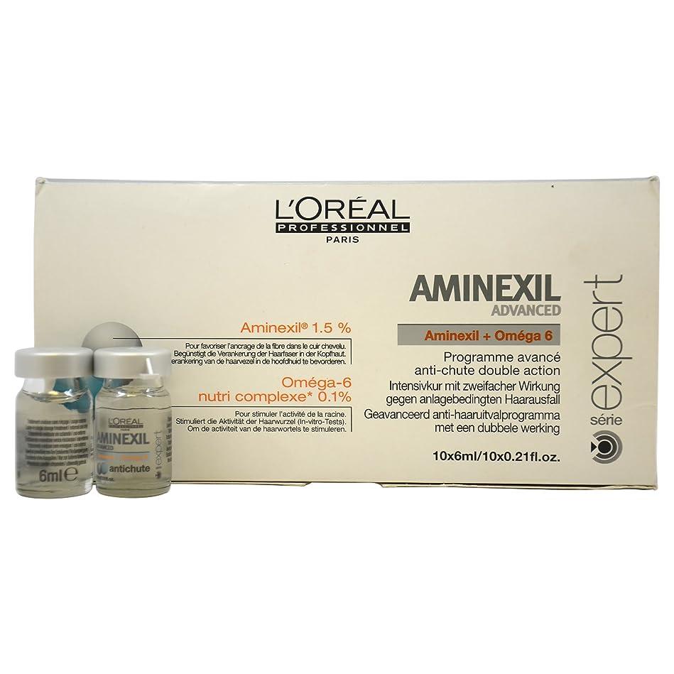 ピアースクラッシュケイ素ロレアル エキスパート ア三ネクシル コントロール 10個 L'Oreal Expert Aminexil Control 10 Units Advanced [並行輸入品]