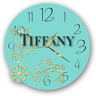 stemarmagazclock Exclusive Clock Tiffany & Co. – Unique Item for Home and Office, Original Present for Every Occasion.