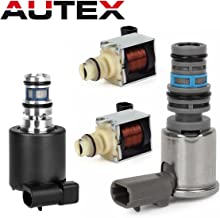 AUTEX 4T65E Transmission Master Shift Solenoid TCC EPC Kit Replacement For Chevy Monte Carlo & Chevy Impala & Chevrolet Venture & Buick LaCrosse & Buick Lucerne 2003-2007/Buick Regal 2003 2004