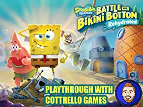 SpongeBob SquarePants: Battle for Bikini Bottom - Rehydrated Playthrough with Cottrello Games