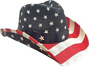Port Classic American Flag Cowboy Hat