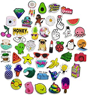 50 Novelty Stickers are Cute Waterproof Beautiful and Stylish Decal Perfect for Water Bottles Laptop Skateboards Guitars Suitcases etc.