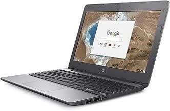 HP 11-V010 11.6in HD 16GB Chromebook Intel Celeron N3060 4GB WiFi Bluetooth (Renewed)