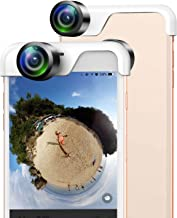 USAMS 360 Degree Panoramic Camera Lens Capture 360 Degree Photos Sharing To Your Social Medias for iPhone 6 Plus iPhone 6S Plus (5.5 Inch)