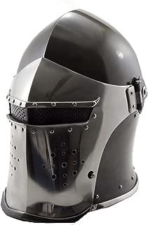 Helmet New Black Barbuta Roman Gladiator Armor Helmet