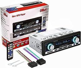 Audew Auto Radio Coche Bluetooth Estereo In Dash AUX USB SD