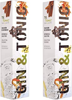 Gin & Tonic 7 Different Botanicals for - Te Tonic experience (Pack of 2)