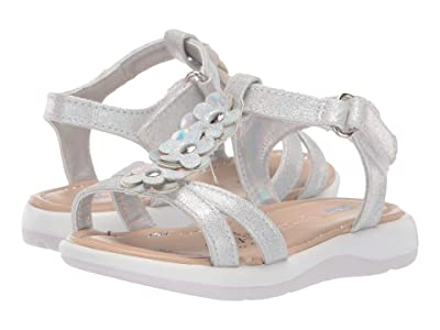 Kid Express Ainara (Toddler) (Silver Combo) Girls Shoes