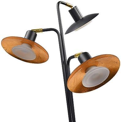 Gastfreundlich Design Stehlampe Stehleuchte Deckenfluter Lampenschirm Metall Wohnzimmer Modern Möbel & Wohnen Leuchten & Leuchtmittel