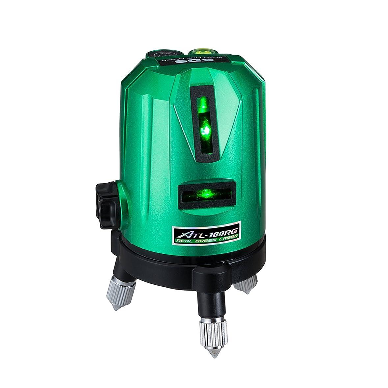 逆説スポーツ織るムラテックKDS レーザー墨出器 リアルグリーン本体 ALT-100RG 高輝度グリーンレーザー