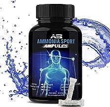 AmmoniaSport Athletic Smelling Salts - Ampules (25) Ammonia Inhalant - Smelling Salts - Powerlifting Smelling Salts - Ammo...