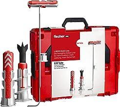 fischer - DuoPower L-Boxx assortiment doos DuoPower pluggen voor gipsplaat, baksteen en beton, diameter 6, 8, 10, slagvast...