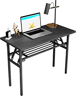 CRGHS Foldable Laptop Computer Desk, Writing Desk Folding...